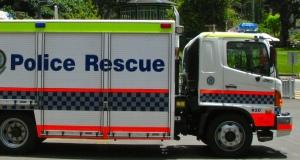 Police Rescue Truck