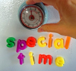 Special Time - turn on the timer.