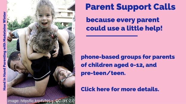Family Pile Up - Parent Support Calls, because every parent could use a little help.